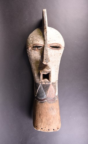 Lot 90 - A Kifwebe mask, Songye, Democratic Republic of...