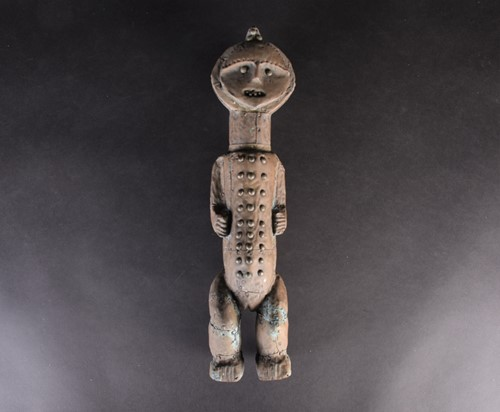 Lot 85 - An Ambete standing reliquary figure, Gabon,...