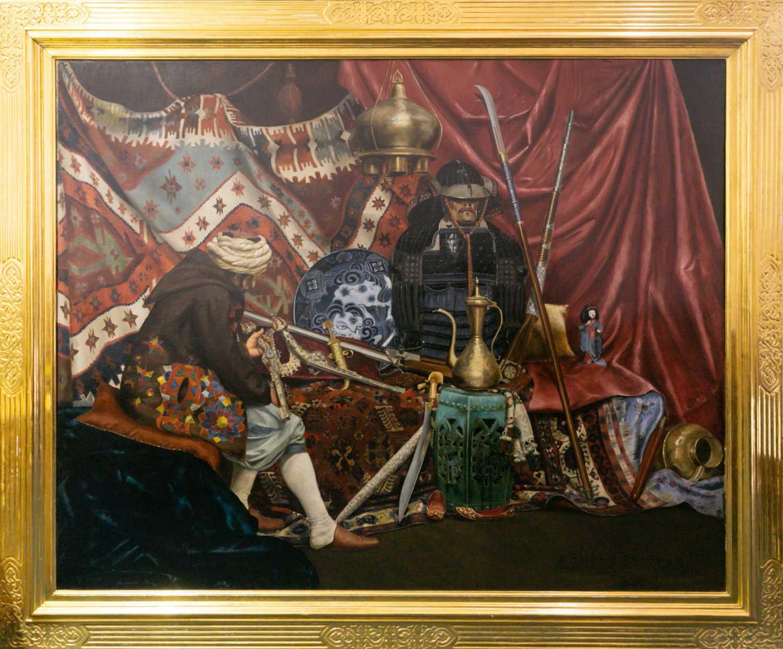 Lot 53 - Ernest Moreau (French, Orientalist?), An...