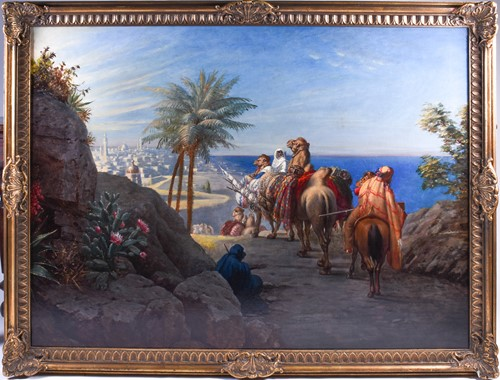 Lot 12 - Late 19th / early 20th century Orientalist...
