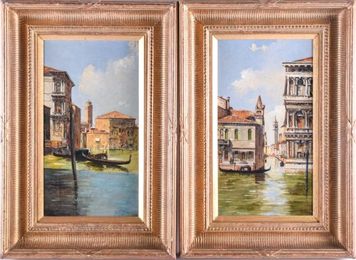 Lot 23 - A pair of late 19th century paintings of...