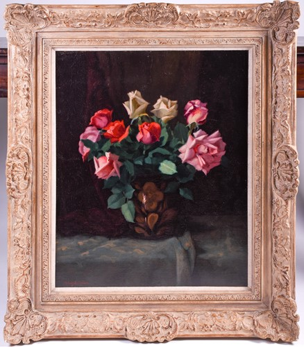 Lot 29 - 20th century school, a floral still life study,...