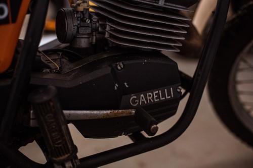 Lot 14 - A 1981 Italian Garelli Enduro 40 red scrambler...