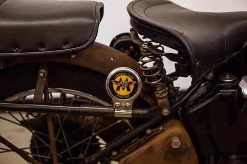 Lot 4 - A 1947 Matchless G80 black 500cc motorcycle,...