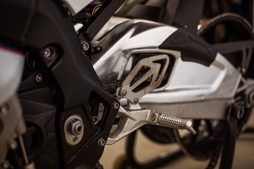 Lot 12 - A 2015 BMW S1000RR 999cc sports motorcycle,...