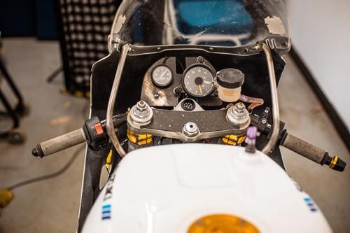 Lot 13 - A Suzuki GSXR750 motorcycle SORN'd. Mileage...