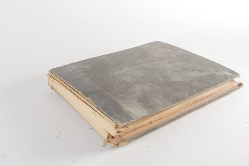 Lot 289 - A late 19th century autograph book, containing...