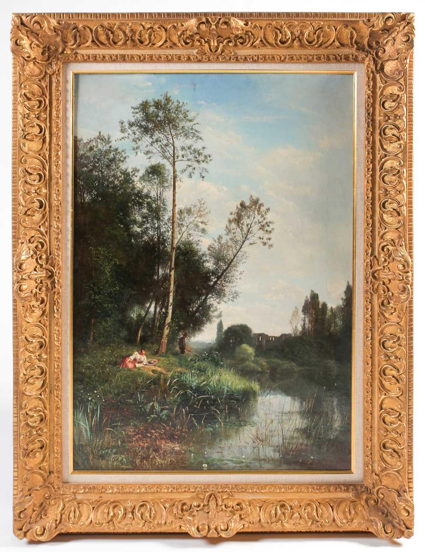 Lot 1 - Louis Rémy Eugene Desjobert (1817-1863) French,...