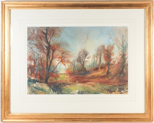 Lot 41 - Alexander Creswell (b.1957), 'Knole, Autumn in...