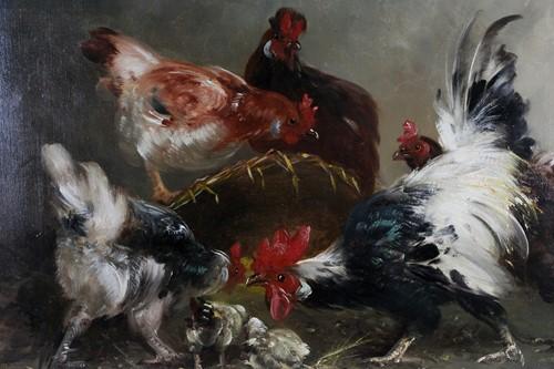 Lot 43 - Henry Schouten (1857-1927) Belgian, 'Scene de...