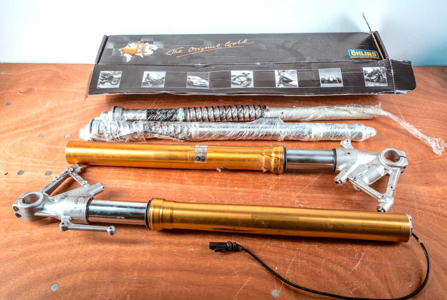 Lot 22 - A pair of BMW S1000RR front suspension forks,...