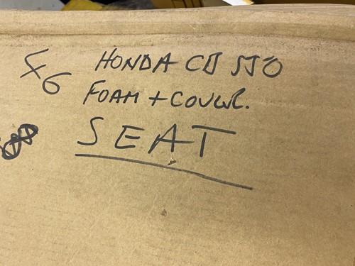 Lot 19 - A part Honda CB550F, Registration: GLF 292T...