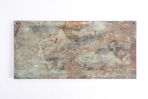 Lot 373 - An Elsey Arts & Crafts rectangular bronze...