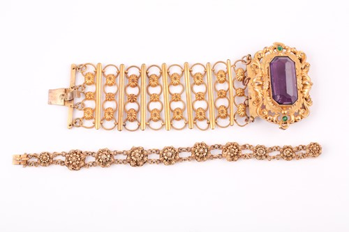Lot 48A - A late 19th / early 20th century gilt metal...