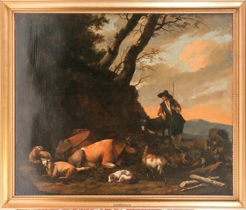 Lot 35 - Attribute to Jan Weenix (c.1640-1719) Dutch, a...