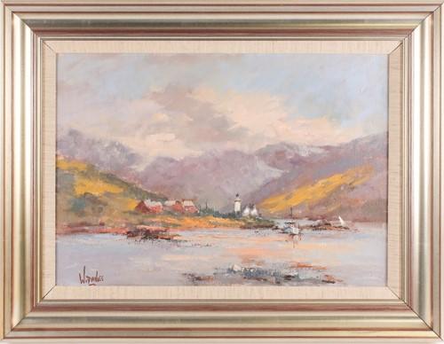 Lot 48 - William Davies (b.1928), 'The Ornsay...