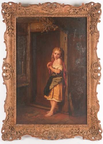 Lot 64 - Alfred Josiah Rushton (1864-?), a full-length...