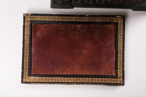 Lot 436 - A mid-19th century boxwood and ebony Staunton...