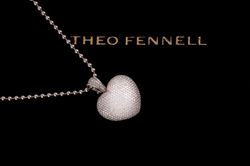 Lot 71 - Theo Fennell. An 18ct white gold and diamond...