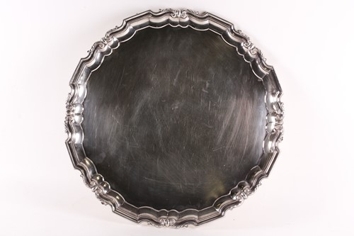 Lot 549 - An early 20th-century Scottish heavy silver...