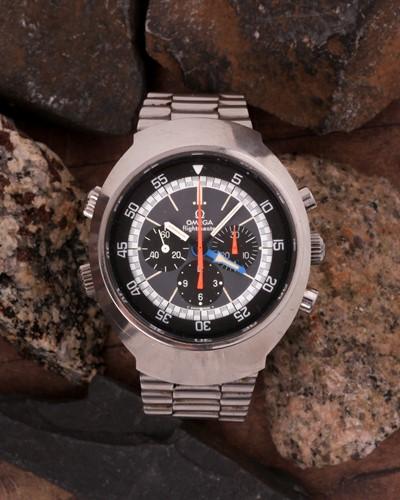 Lot 656 - A 1972 Omega Flightmaster ref: 145.026...