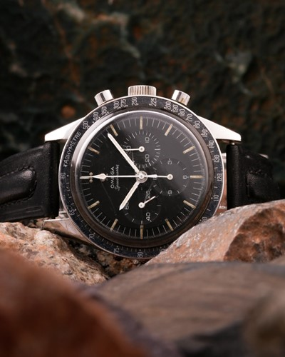 Lot 624 - A very rare 1964 Omega Speedmaster reference...