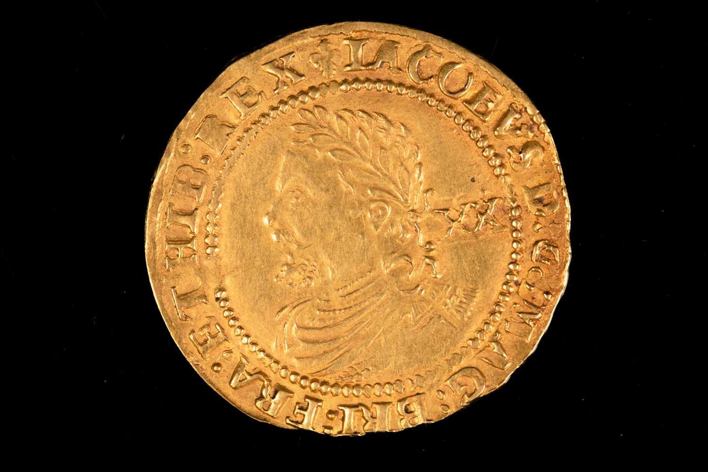 Lot 313 - British coins, James I, Laurel, third coinage,...