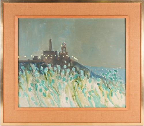 Lot 1 - Harold Riley (b.1934) British, a hill-top...