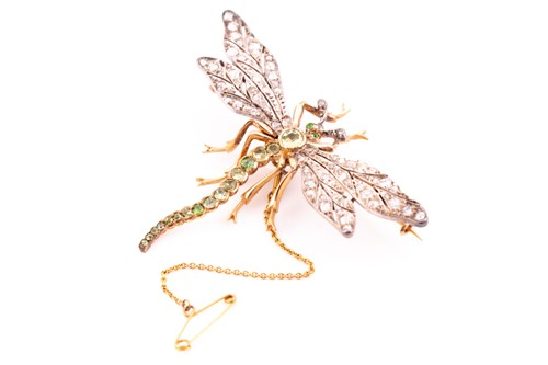 Lot 258 - A late 19th / early 20th century brooch, in...