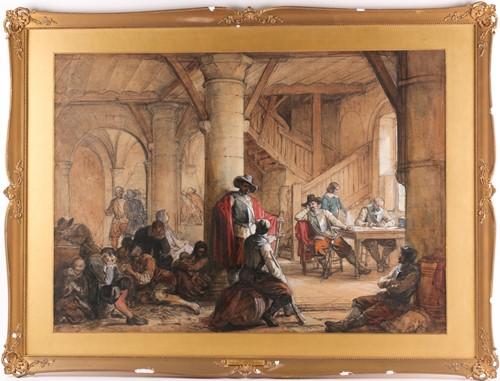 Lot 42 - Louis Haghe HPRI (1806-1885) Belgian, 'The...