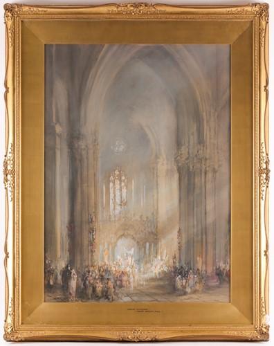 Lot 4 - Frank Wasley RWS (1848-1934), 'Amiens...