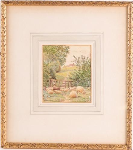 Lot 10 - Frederick Williamson (1835-1900),a small...