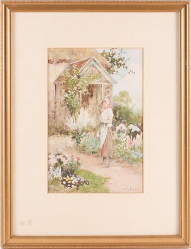 Lot 30 - Joshua Fisher (1859-1930), a portrait of a...