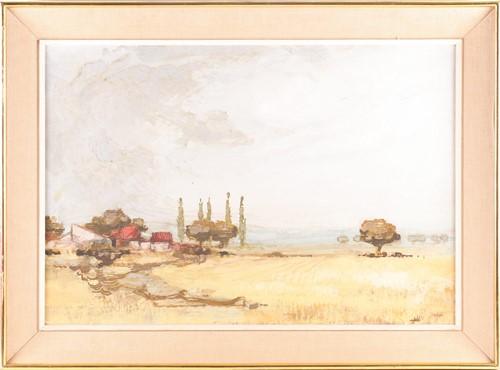 Lot 15 - James Taylor (b. 1930), 'Spanish Landscape',...