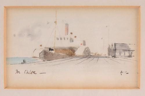 Lot 16 - Sir Hugh Casson (1910-1999), a miniature...