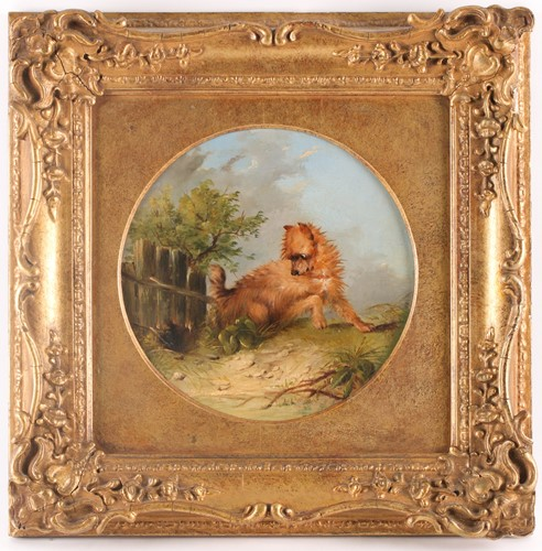 Lot 22 - Circle of George Armfield (1808-1893), Terrier...