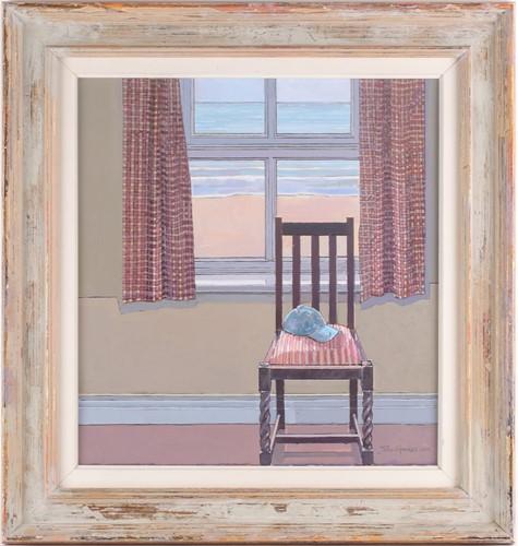 Lot 29 - John Sprakes, Out to Sea, acrylic on canvas,...