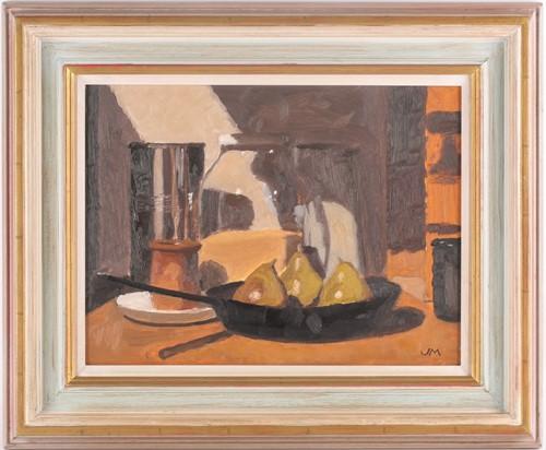Lot 22 - John Maddison FSA (Scottish. B. 1952), Frying...