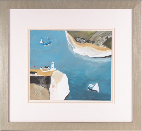 Lot 14 - Anna MacMiadhachain, Sea Dreams, acrylic on...