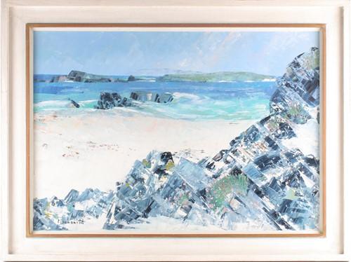 Lot 56 - Frances Macdonald SSWA, RGI, (Scottish), White...