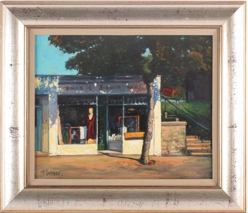 Lot 51 - Joe McIntyre, (Scottish. B. 1940), Study of...