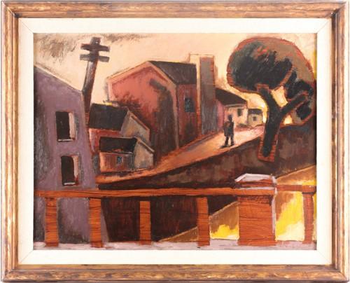 Lot 1 - Josef Herman (1911-2000) Polish/British, 'The...