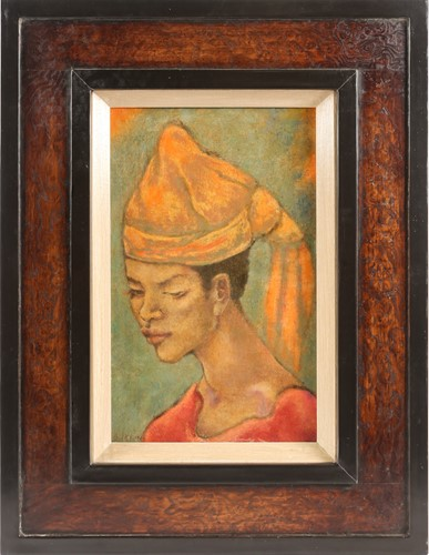 Lot 24 - George Biddle (1885-1973) American, portrait...