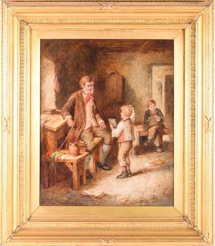 Lot 33 - Mark William Langlois (British, 1848-1924), 'A...