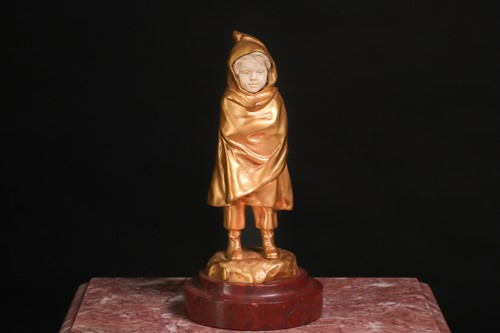 Lot 200 - Antoine Bofill (1875 - 1939), gilt bronze and...