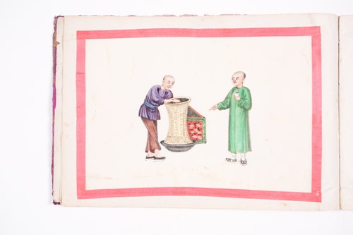 Lot 12 - An early 19th century Chinese export...