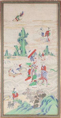 Lot 1 - Chinese school, early 20th century, Taoist...
