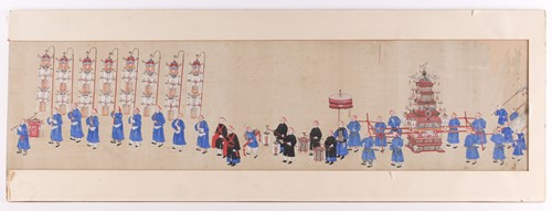 Lot 13 - Chinese school, Qing, late 19th/early 20th...