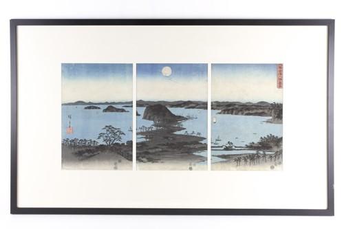 Lot 31 - Utagawa Hiroshige (Japanese, 1797 - 1858), '...